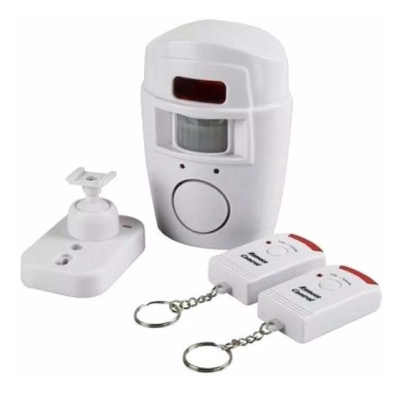 Kit Alarme Com Sensor De Presenca Infravermelho Anti Roubo