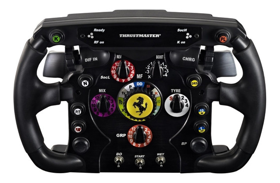 Volante F1 Ferrari Wheel Add On Thrustmaster Carrera Pc Ps4