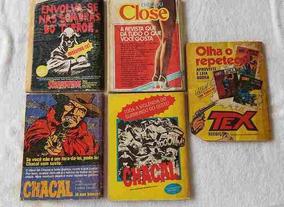Zagor Da Editora Vecchi, Números 3-5-7-8-9-19-28-49 E 56