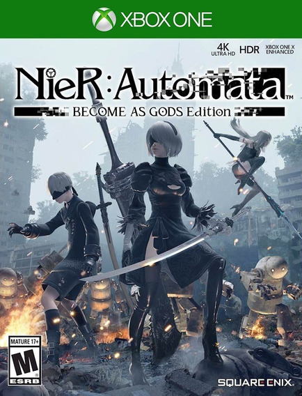 Nier Automata Become Gods Xbox One - 25 Dígitos (envio Flash)