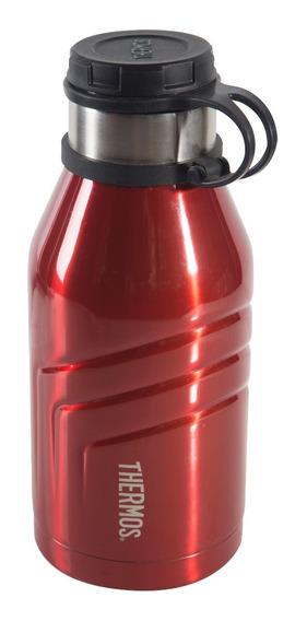 Botella Térmica 940 Ml Acero Inox Ss Roja -thermos