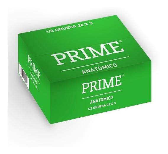 Preservativos Prime Anatomico X72 Unidades Menor Ancho