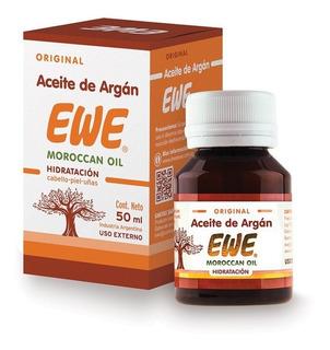 Aceite De Argán Ewe Puro Moroccan Oil 50 Ml Original