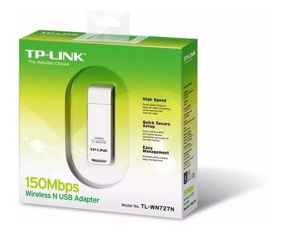 Adaptador Wireless Tp-link Tl-wn727n 150mbps Usb 2.0