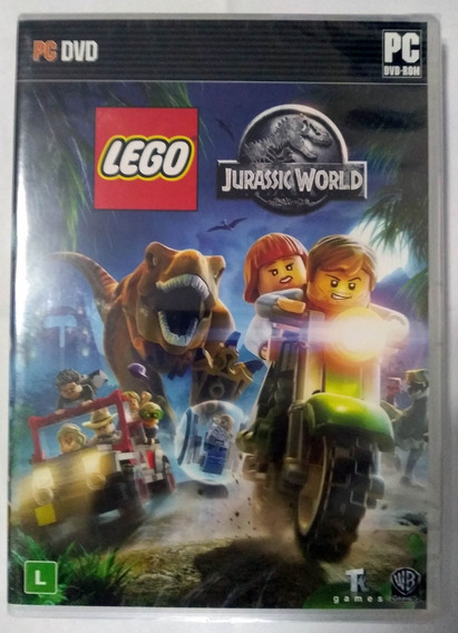 Lego Jurassic World Pc Novo Lacrado