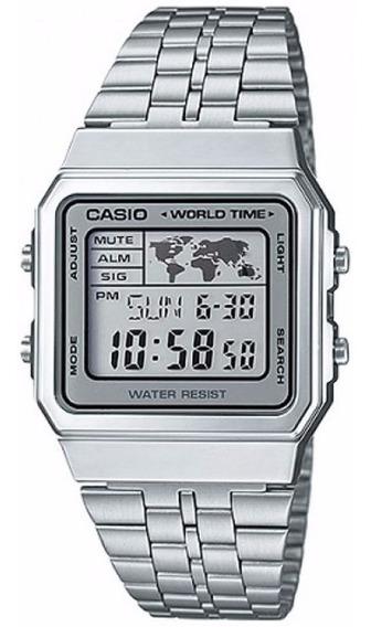 Relógio Casio Vintage A500wa-7df Original Nota Fiscal