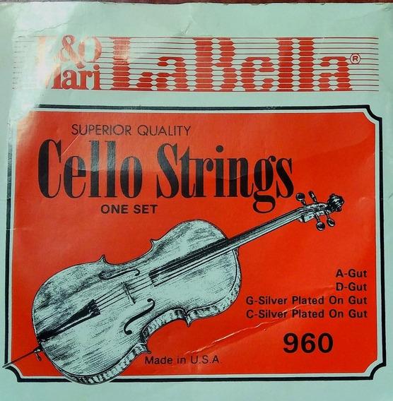 Set De Cuerdas Para Cello(la Bella)960 Usa