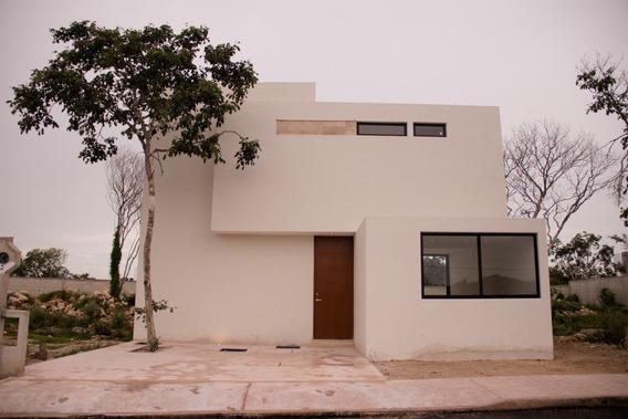 Casa Nueva En Venta En Privada Otavia, Modelo 141, Conkal, Mérida Norte
