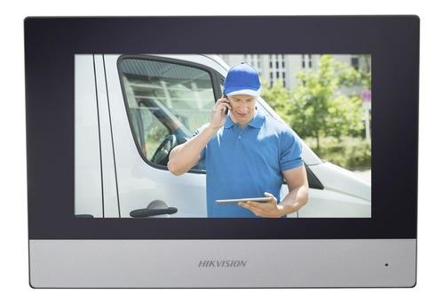 Imagen 1 de 3 de Hikvision Monitor Ip Wifi Touch Screen 7  P/ Videoportero Ip