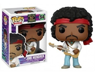 Funko Pop Jimi Hendrix Figura De Vinilo Numero 54