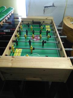 Futbolin, Mesa Ping Pong, Pool, Hockey Aire