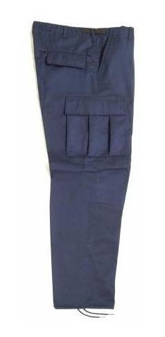 Pantalon De Bolsas Tactico Comando Policia Seguridad Gabardi