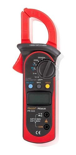 Pinza Amperimetrica Digital Prasek Pr-103