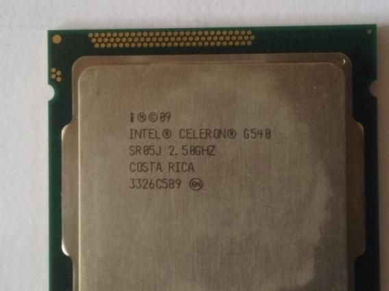 Processador Intel® Celeron® G540 Cache 2m, 2,50 Ghz - 1907