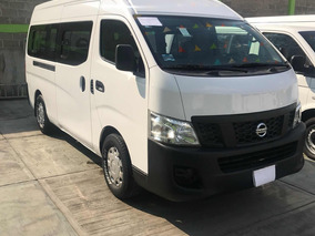 Nissan Urvan 2.5 15 Pas Amplia Aapack Seg Mt 2016 Nv350