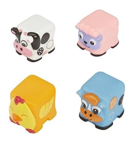 Imagen 1 de 3 de Juguete De Bañera Alex Toys Farm Friends Block Squirters