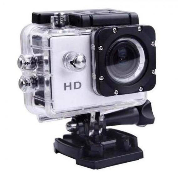 Camera Filmadora De Ação Full Hd Capacetes Trilha Mergulho