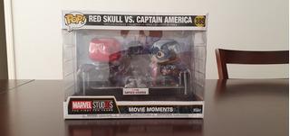 Capitan América Vs. Red Skull Movie Moment Funko Pop