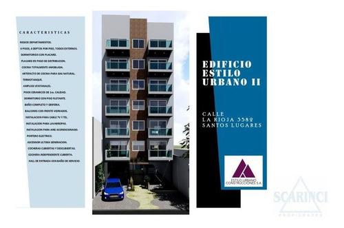 Departamento Venta 1-2 Ambientes A Estrenar, Santos Lugares