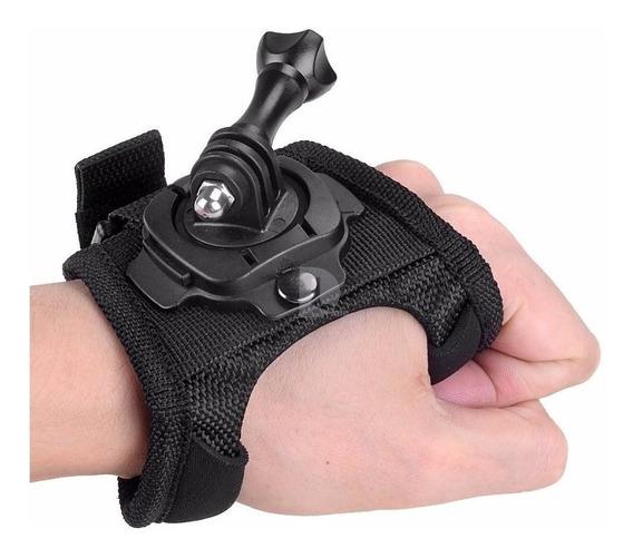 Luva 360° Suporte Mão Gopro Action Cam