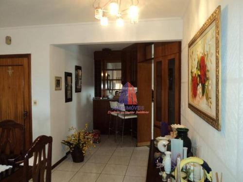 Apartamento Com 3 Dormitórios À Venda, 110 M² Por R$ 410.000 - Condomínio Edifício Planalto - Vila Belvedere - Americana/sp - Ap0303