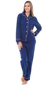 6c74a79492 Pijamas De Franela Para Mujer Alexander Del Rossa
