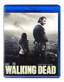 The Walking Dead Sexta Temporada 6 Seis Blu-ray