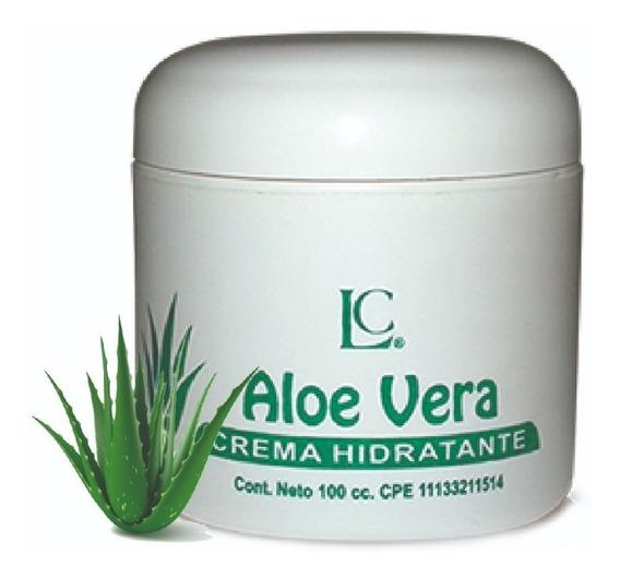 Crema Hidratante Lior Áloe Vera 100 Cc
