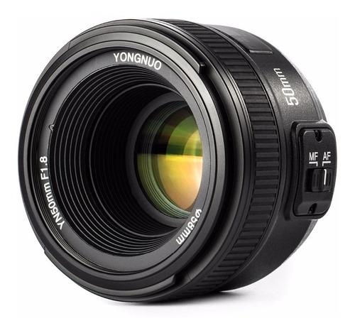 Lente Yongnuo 50mm 1.8 Nikon Autofoco