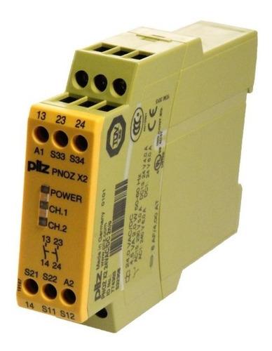 Imagen 1 de 1 de 774303 Pilz Pnoz X2 24 Safety Relay 24v Ac/dc 774303