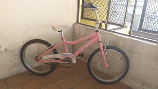 Bicicleta Vairo Rosa Rodado 20 Lista Para Usar Y Regalar