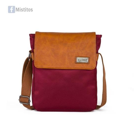 Crossbody Blu Bag Caballero Con Compartimento Para Tablet