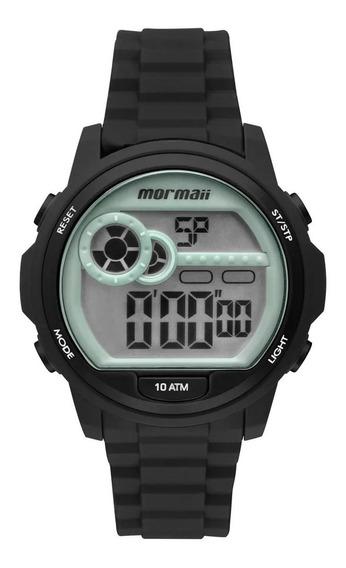 Relógio Feminino Esportivo Preto Mormaii Mo1462a/8p
