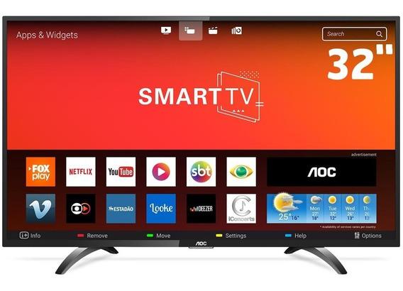 Smart Tv Led 32 Polegadas Aoc Wi-fi Hd Usb Hdmi Le32s5970