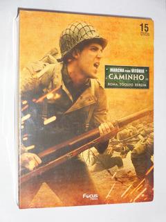 Box Dvd Guerras 15 Dvds Marcha P Vitória Caminho Roma Berlim