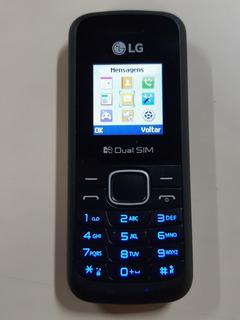 Celular Lg B220 Dual 2 Chip Desbloqueado Rádio Fm Lanterna