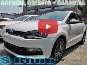 Volkswagen Polo 1.6 L4 Mt 2018 Credito + Garantia Agencia !!
