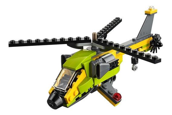 Blocos De Montar - Lego Creator - Aventura De Helicoptero