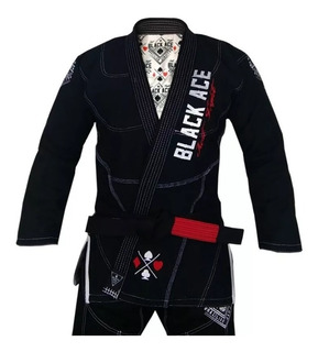 Kimono Black Ace Just Fight A3