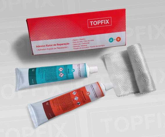Topfix Super Cola - Adesivo Epóxi De Reparação 150g (75+75)