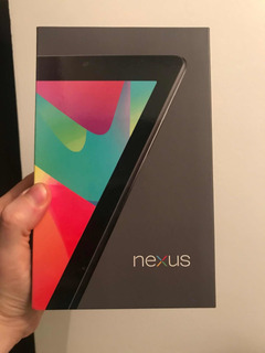 Tablet Asus Google Nexus 7 Pulgadas 32 Giga Wifi