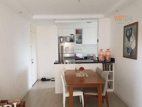 Apartamento Com 3 Dormitórios Para Alugar, 62 M² - Jardim Íris - São Paulo/sp - Ap0416