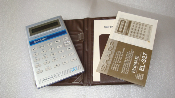 Calculadora Musical El-327 Sharp - Usada Restauro Ret Peças