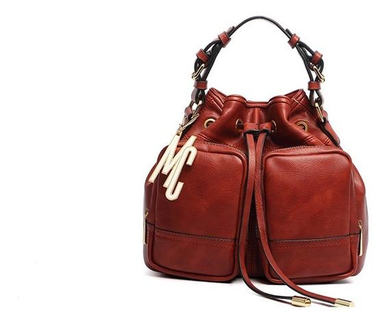 Bolsa Saco De Costas Macadâmia Moda Feminina Fashion Luxuosa