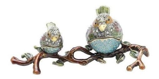 Porta-jóias Pássaros 12x5x5cm