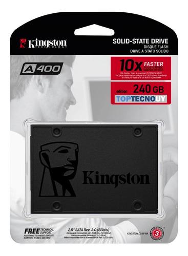 Disco Duro Solido Ssd Kingston 240gb 10x Pc Notebook Interno