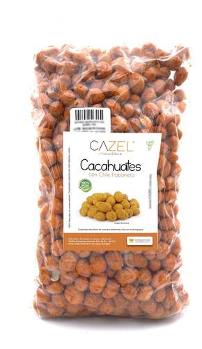 Cacahuates Con Habanero Receta Especial 1kg
