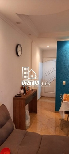 Apartamento No Bairro Jardim Santa Terezinha (zona Leste), 3 Dormitorios E  1 Vagas, 56 M - 8161