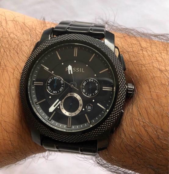 Relógio Fóssil Preto