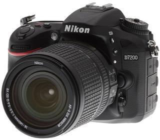 Nikon D7200 24mpx Kit 18-140 Hd Jirehdigital